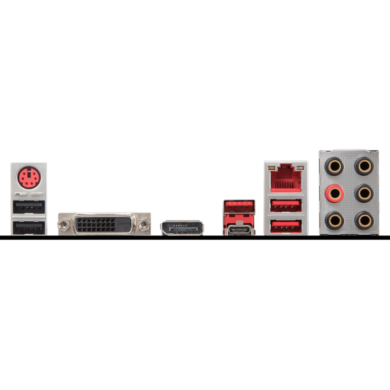 MSI B360 GAMING PLUS 2666 USB3.1 RGB mATX 8.NESİL